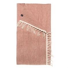 """Add a fresh pop of color to your interior with the Särö rug in the color """"committed"""" by Himla. The rug is a thin, woven cotton rug with a heathered color design. A great choice for close to any room of the house. Available in different colors."""