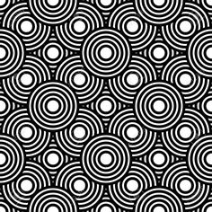 geometric pattern vector black and white - Google Search