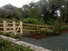 split rail fence gates | Split Rail Fence and Gate