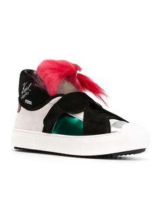 Fendi  Karlito  Sneakers - Farfetch a88b86e8fad1c