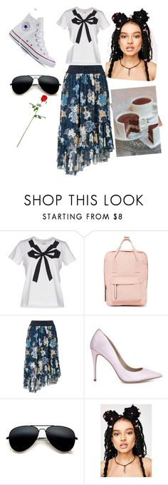 """""""Untitled #3"""" by elmajusufovic ❤ liked on Polyvore featuring Marc by Marc Jacobs, Madden Girl, See by Chloé, ALDO and Converse"""