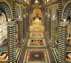Catedral de Siena Italia