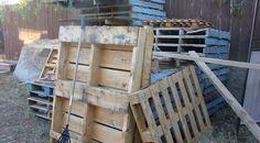 Il a ramassé des palettes de bois pendant un certain temps et en a fait quelque chose d'épatant!