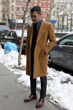 Overcoat - camel