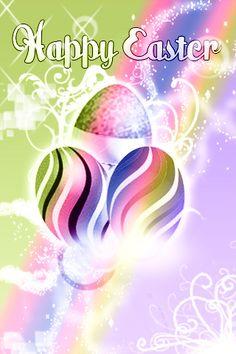 Pastel Easter Eggs Purple