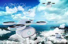 Air Pack, le pigeon voyageur 2.0