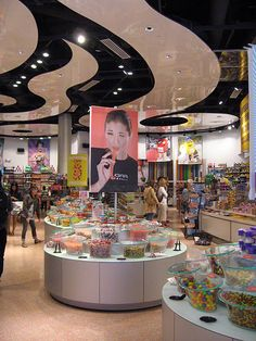 The candy store was huge and overwhelming!  We had 15 minutes, GO!