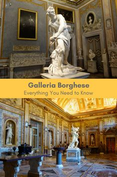 Everything you need to know about the Galleria Borghese. By Romewise. #rome #italy #travel #museum #art #sculpture