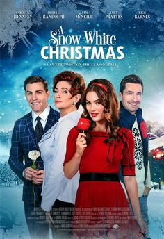 Its a Wonderful Movie - Your Guide to Family and Christmas Movies on TV: A Snow White Christmas - an ION Holiday Movie Premiere White Christmas Movie, Family Christmas Movies, Hallmark Christmas Movies, Holiday Movie, Family Movies, Snow White Movie, Xmas Movies, Christmas Poster, Christmas 2019