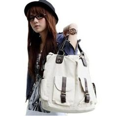 Cool2day fashion canvas girl's lady Handbags Tote map school bag Messenger Shoulder b010026