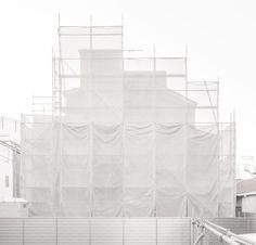 janvranovsky:  Ghost building, Higashi Shinjuku, Tokyo| © Jan...