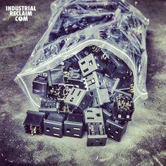 "One of our current projects has a ""couple"" power plugs.  IndustrialReclaim.com  #reclaimed #repurposed#industrialfurniture#modernfurniture #design #art #handmade #decor #vintage #vintageindustrial #industrial#artofchi #creative #steel #metal #plugs #welding #industrialdesign #interiordesigner #interiordesign #modern #moderndesign #modernindustrial #chicago #Chicagoart #insta_chicago #chicagogram"