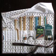 Tutorial Knitting Needle Case