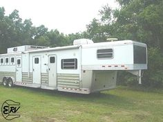 Living Quarter Horse Trailer - 2006 4-Star 5 Horse Trailer - EquineRV.com