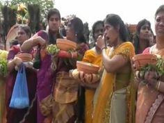 """Hamm-Uentrop:Tempelfest 2011""""Hauptprozession der""""Göttin Sri Kamadchi Amp..."""