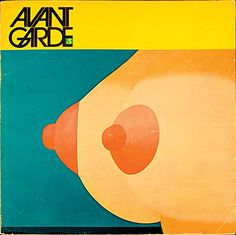 Avant Garde by Herb Lubalin.  An arts and politics magazine, Avant Garde was Herb Lubalin's third collaboration with the independent publisher Ralph Ginzburg