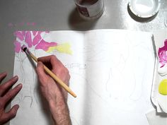 """Fauvism Landscape Painting """"big shapes with bright colors"""" (part 2/7).MOV"""