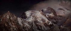 Photo Nocturne au massif du Mont-Blanc - Alexandre Deschaumes