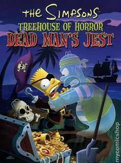 Simpsons Treehouse of Horror TPB (2001-2011 HarperCollins) 5-1ST
