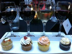 wine and cupcake pairings