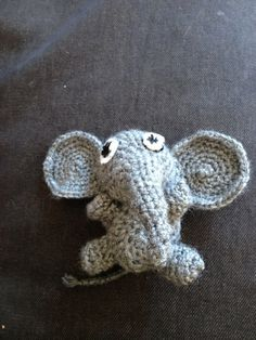 Diy crochet Elephant