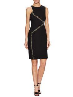 Abito Donna Jersey Sheath Dress by Versace