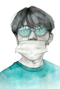 bts v i think fanart