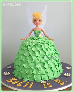 Tinkerbell....Oh my Stars! I love this cake!