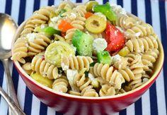 Recipe of the Day: Greek Pasta Salad