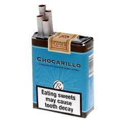 Chocolate Cigarettes - these were great and I dont think they would be able to produce & package them like this today!