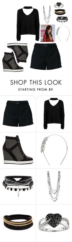 """MIestilo0291"" by paolaalbo ❤ liked on Polyvore featuring Loveless, Boohoo, Jimmy Choo, John Lewis, Vita Fede and Ice"