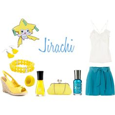 Jirachi (Pokemon) Inspired Outfit