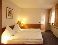 Doppelzimmer im Hotel Ilbertz in Köln-Deutz
