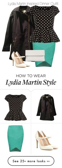 """Lydia Martin Inspired Dinner Outfit"" by staystronng on Polyvore featuring Michael Kors, Posh Girl, Dorothy Perkins, Whistles, Gianvito Rossi, Dinner, LydiaMartin, semiformal and tw"