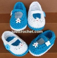 FJC26-Mary-Jane Shoes crochet pattern