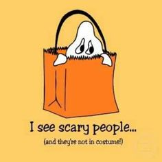Scary people