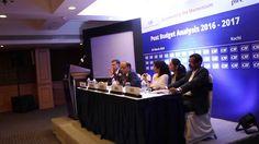 MD Mr V George Antony in CII Post Budget Analysis
