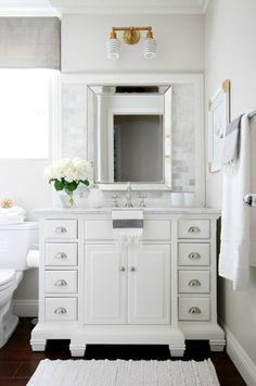 Children's Bathroom Reveal, paint color (pale oak benjamin moore)