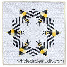 Bzzzzzzquilt | whole circle studio