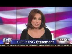 Judge Jeanine tells the truth about Muslim Barack Hussein Obama!