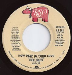 How Deep Is Your Love / Bee Gees / on Billboard I remember taking my naps to this at my grandmas house! 1970s Music, Old Music, 45 Records, Vinyl Records, Rock And Roll Bands, Country Music Singers, Sing To Me, Oldies But Goodies, Vintage Music
