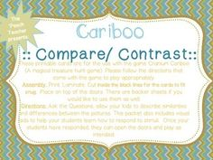 These printable cards are for the use with the game Cranium Cariboo (A magical…