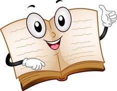 Illustration of an Open Book Mascot Drawing For Kids, Art For Kids, Book Clip Art, School Frame, Kids Background, School Painting, Cute Piggies, English Fun, Preschool Education