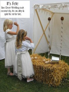 Easy to recreate, I can always get straw bales.