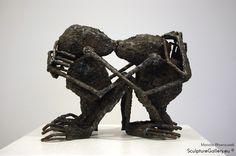 """Uczucia"" - Rzeźba, Mariola Wawrzusiak | Sculpture Gallery"