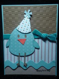 Straight from the Nest Cricut  Happy Bird Day!