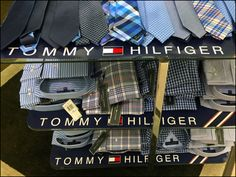 Tommy Hilfiger Branded Shelf Paper – Fixtures Close Up Tommy Hilfiger Brand, Shelf Paper, Retail Merchandising, Logo Branding, Overlays, Adidas Sneakers, Shelves, Adidas Tennis Wear, Shelving
