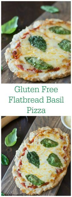 Gluten Free Flatbread Tomato Basil Pizza is an easy dinner that your whole…