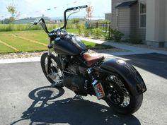 Harley dyna fat rear fender
