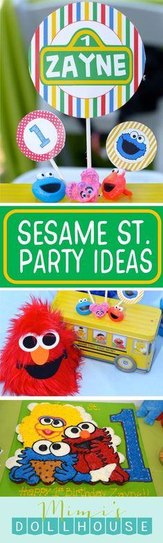 Sesame Street Party: